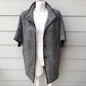 Ann Taylor Short Sleeve Bat Style Coat